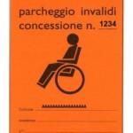 Nuovo contrassegno per invalidi