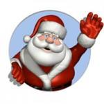 Babbo Natale alle materne di Moena