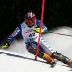 Gli assoluti di sci alpino al passo S. Pellegrino