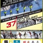 37a Pizolada delle Dolomiti domenica 14 aprile 2013