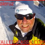 Tony Valeruz festeggia i suoi 40 anni di sci estremo sulla parete nord del Gran Vernel