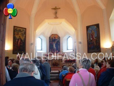 Chiesa passo S Pellegrino