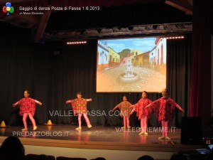saggio danza pozza di fassa 1.6.13 scuola danza tesero predazzo blog24