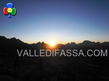 Alba Dolomiti Valle di Fassa