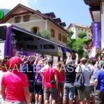La Fiorentina è arrivata a Moena