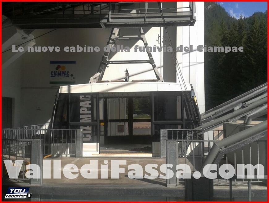 nuove cabine funivia ciampac 1 fassa