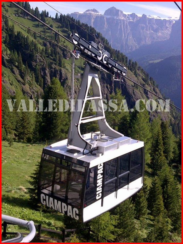 nuove cabine funivia ciampac 2 fassa