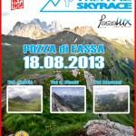 Trei Val Sky Race prima edizione da Pera di Fassa