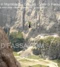 Slackline in Marmolada - Dolomiti - Valle di Fassa2