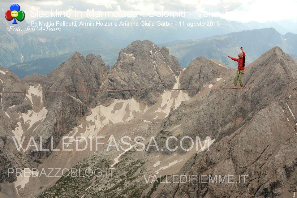 Slackline in Marmolada - Dolomiti - Valle di Fassa5