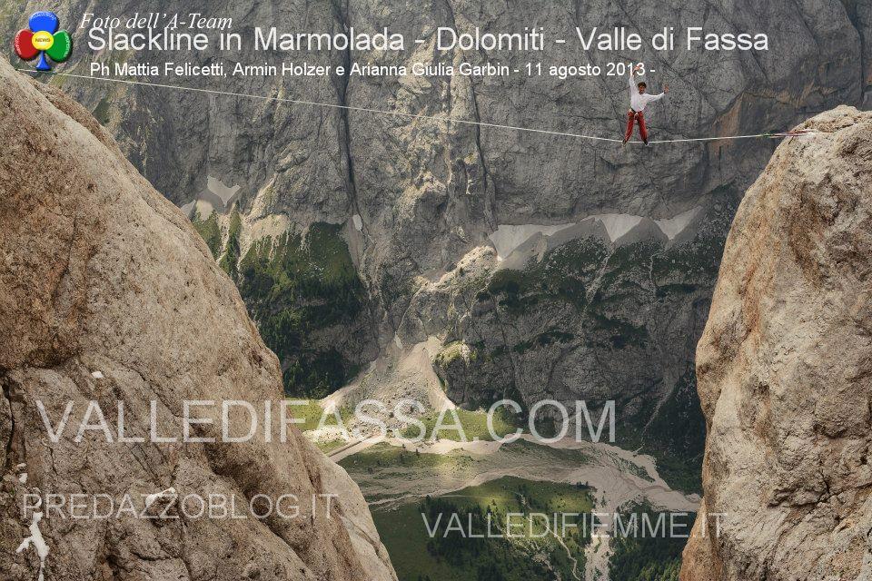 Slackline in Marmolada - Dolomiti - Valle di Fassa6