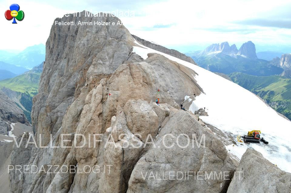 Slackline in Marmolada - Dolomiti - Valle di Fassa7