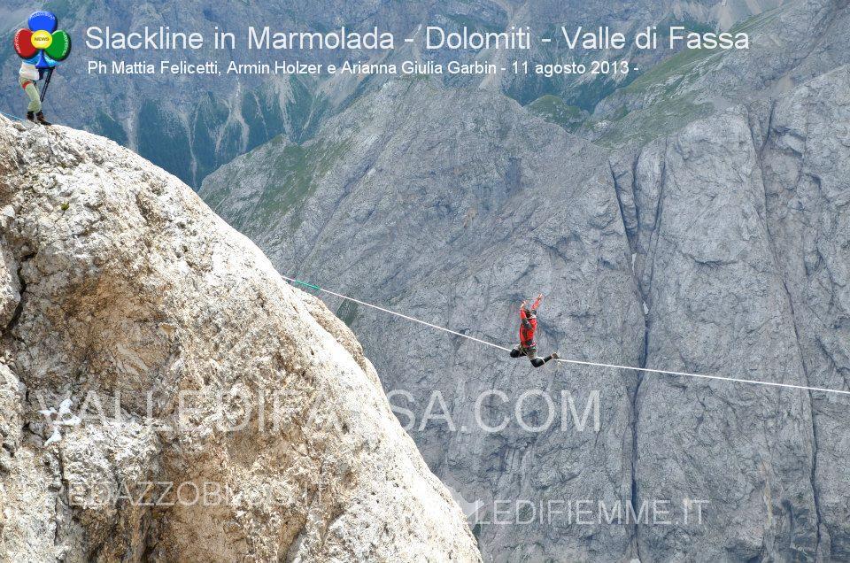 Slackline in Marmolada - Dolomiti - Valle di Fassa9