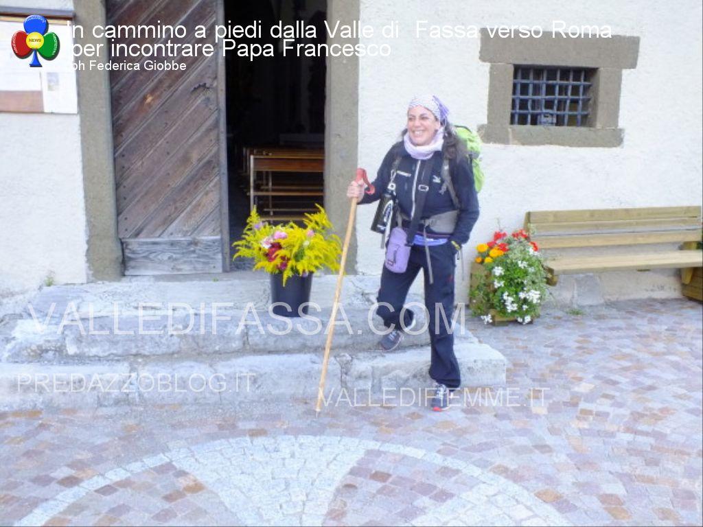 In cammino a piedi dalla Valle di  Fassa verso Roma per incontrare Papa Francesco1