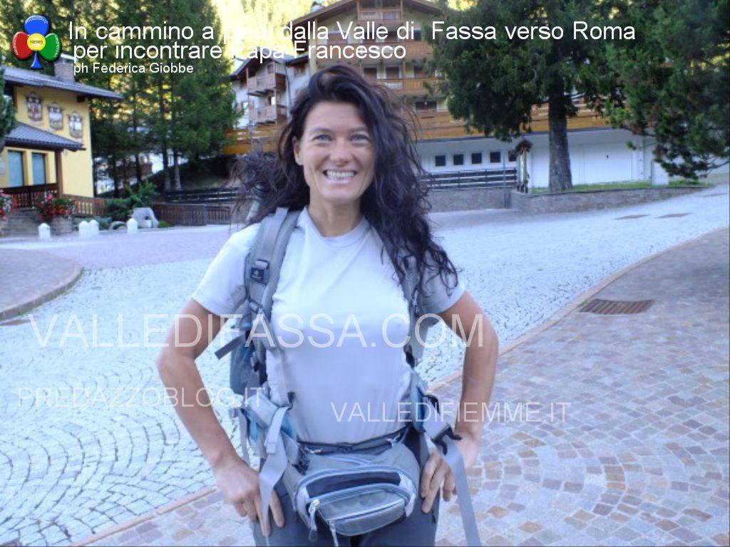 In cammino a piedi dalla Valle di  Fassa verso Roma per incontrare Papa Francesco2