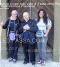 In cammino a piedi dalla Valle di  Fassa verso Roma per incontrare Papa Francesco4