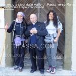In cammino a piedi dalla Valle di  Fassa fino a Roma per incontrare Papa Francesco