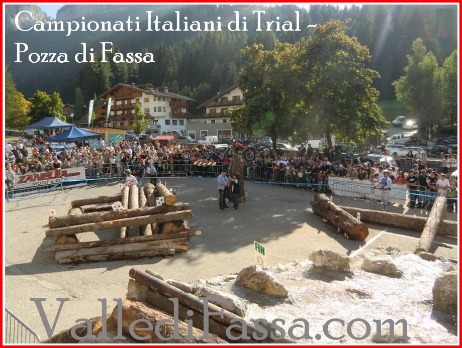 campioni Italiani di Trial pozza di fassa