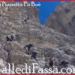Piz Boè, soccorso nella notte escursionista russo sulla ferrata Piazzetta