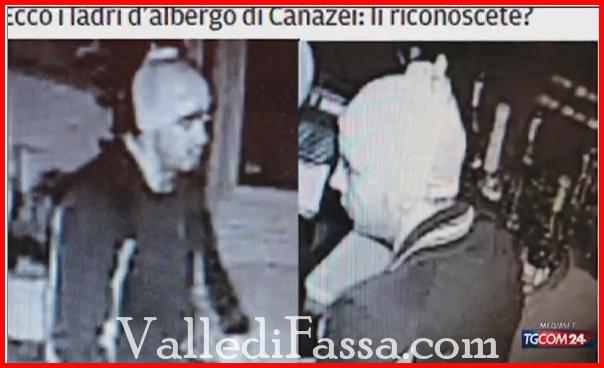 foto ladri alberghi canazei fassa