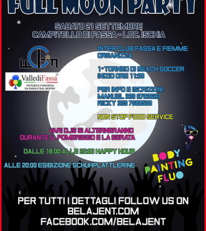 full moon party fassa