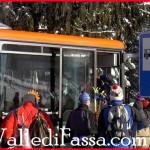 Skibus a pagamento in Valle di Fassa