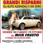 Expò Auto e grandi risparmi a Tesero da Mich Fausto 18 – 19 ottobre