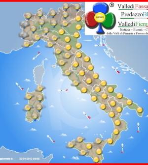 meteo fassa fiemme italia