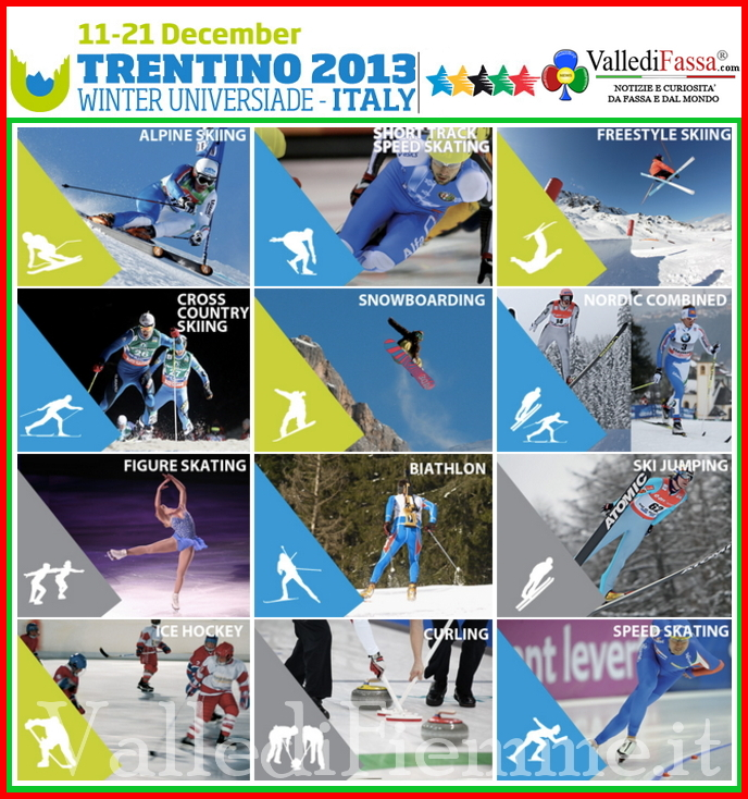 universiadi trentino 2013 winter universiade italy fassa