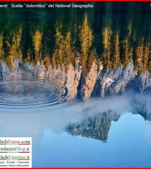 lago carezza national geographic valle di fassa