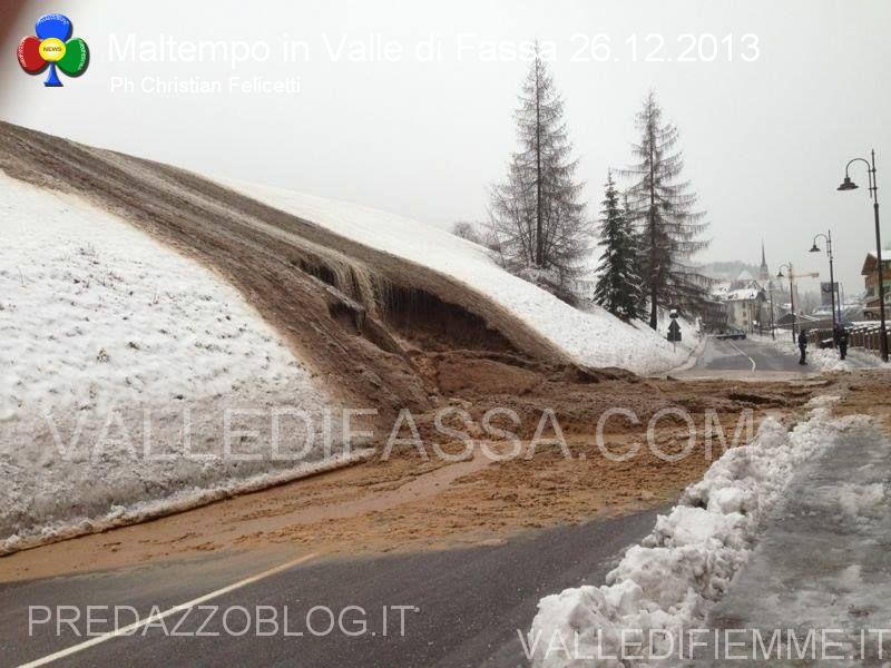 moena smottamento sulla statale 48 dolomiti 26.12.2013 valle di fassa4
