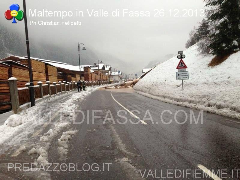 moena smottamento sulla statale 48 dolomiti 26.12.2013 valle di fassa5