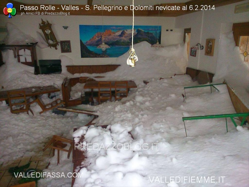 nevicate rolle valles san pellegrino dolomiti danni e paesaggi13