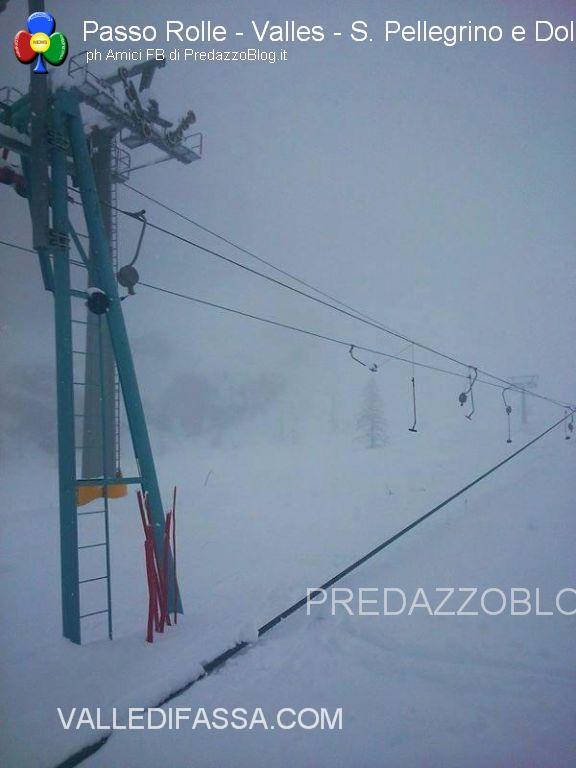 nevicate rolle valles san pellegrino dolomiti danni e paesaggi28