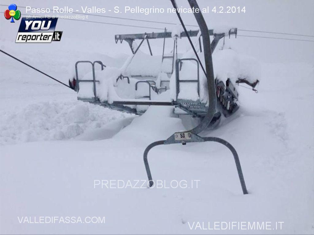 passo rolle e passo san pellegrino nevicate al 4.2.2014 predazzo blog5