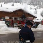 penia di canazei incendio appartamento 11.2.2014 valle di fassa1