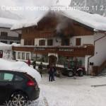Penia di Canazei, appartamento in fiamme