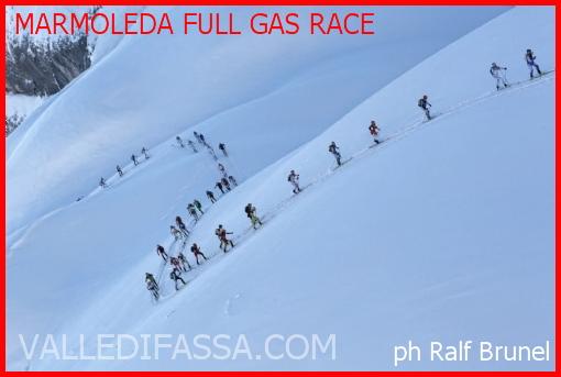marmoleda full gas race
