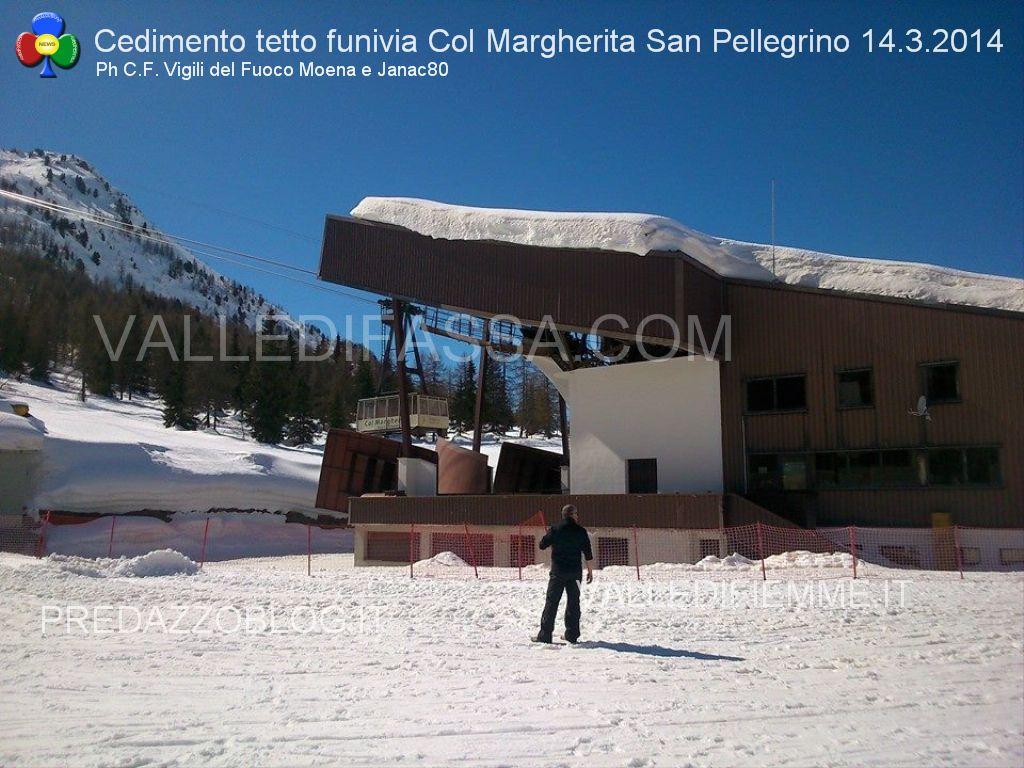 passo san pellegrino funivia col margherita cedimento tetto valledifassa.com1