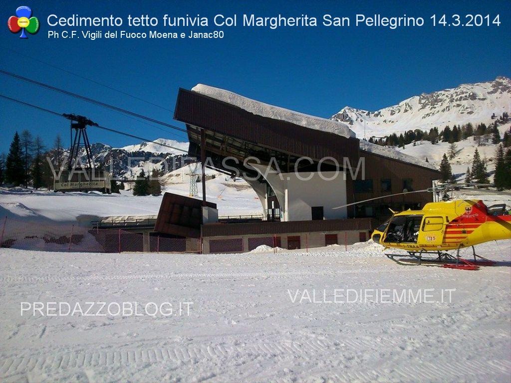 passo san pellegrino funivia col margherita cedimento tetto valledifassa.com2