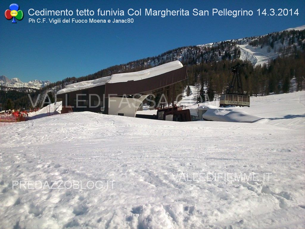 passo san pellegrino funivia col margherita cedimento tetto valledifassa.com3