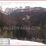 Grossa frana al Vael nel comune di Vigo di Fassa – Le foto