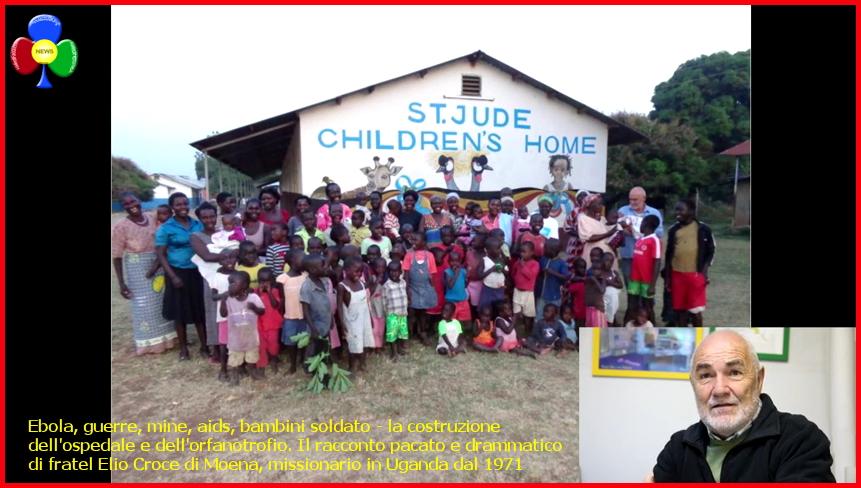 fratel elio croce ebola guerre mine aids bambini soldato intervista 1 LAfrica di Bro. Elio Croce e Maresa Perenchio a Predazzo