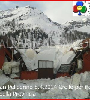 passo san pellegrino crollo garage provincia 5 aprile 2014 valle di fassa