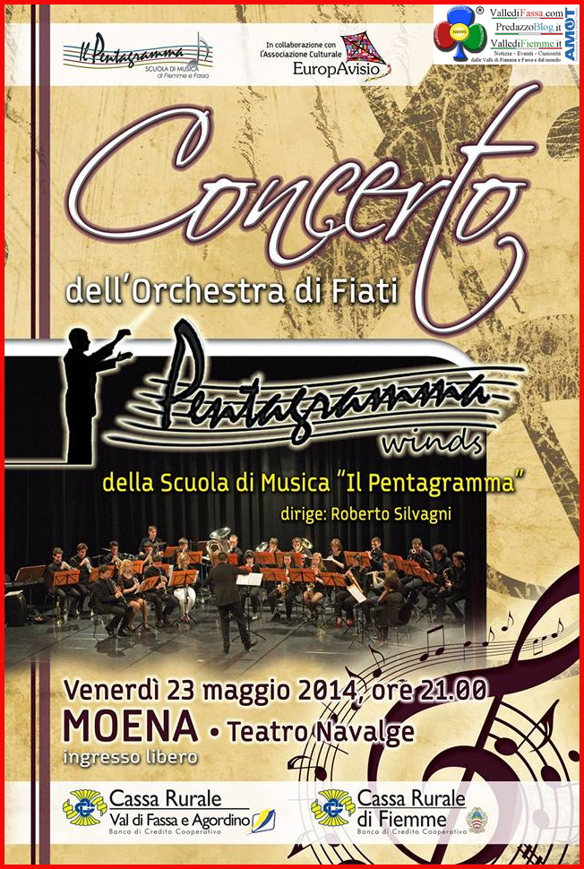 concerto a moena winds orchestra