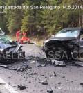incidente stradale passo san pellegrino fassa 14.5.20142