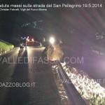 moena massi caduti sulla statale del san pellegrino vigili del fuoco moena3