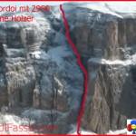 Nicola Bertamini di Arco precipita e muore sul Sass Pordoi