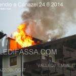 Furioso incendio a Canazei, mansarda distrutta dalle fiamme
