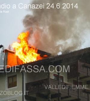 incendio mansarda a canazei valle di fassa2